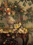 jean frederic bazille flowers paintings