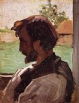 jean frederic bazille self portrait at saint painting 31256