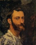 self portrait by jean frederic bazille painting