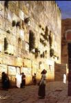 jean leon gerome solomon s wall jerusalem (or the wailing wall) painting