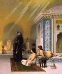jean leon gerome the harem bath painting