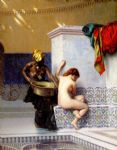 jean leon gerome turkish bath or moorish bath by jean-leon gerome painting