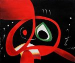 kopf by joan miro painting