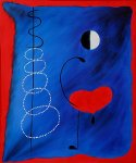 joan miro la danseuse painting