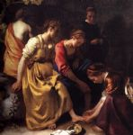 diana and her companions by johannes vermeer painting