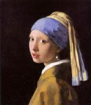 girl with a pearl earring iii by johannes vermeer painting