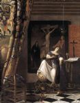 johannes vermeer the allegory of the faith painting