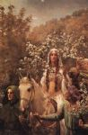 john collier guinevere s maying print