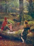 john collier in the forest of arden art