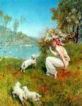 john collier spring posters