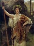 john collier the priestess of bacchus art