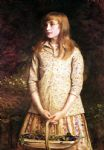 sweetest eyes were ever seen by john everett millais painting