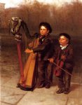 the little strollers by john george brown painting