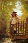 the tomboy by john george brown painting