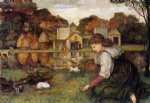 john roddam spencer stanhope the white rabbit paintings
