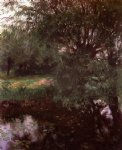 john singer sargent a backwater at wargrave painting