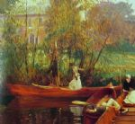 a boating party by john singer sargent painting