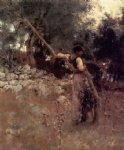 john singer sargent a capriote painting