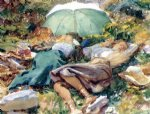 a siesta by john singer sargent painting