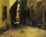 a street in venice ii by john singer sargent painting