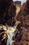 john singer sargent a waterfall painting-30238