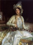 almina daughter of asher wertheimer by john singer sargent painting