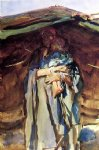 bedouin mother by john singer sargent painting