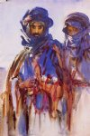 bedouins by john singer sargent painting