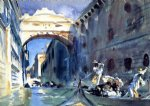 john singer sargent bridge of sighs painting