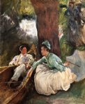 by the river by john singer sargent painting