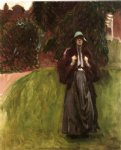 clementina austruther by john singer sargent painting