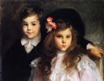 conrad and reine ormand by john singer sargent painting