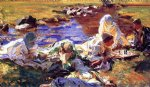 dolce far niente by john singer sargent painting