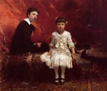 edouard and marie by john singer sargent painting