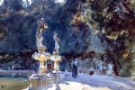 florence fountain boboli gardens by john singer sargent painting