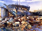 flotsam and jetsam by john singer sargent painting
