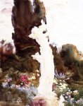 garden fantasy by john singer sargent painting