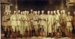 general officers of world war i by john singer sargent painting