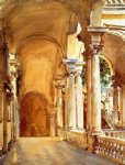 genoa the university by john singer sargent painting