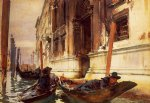 gondolier s siesta by john singer sargent painting