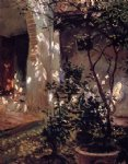 granada sunspots by john singer sargent painting