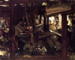 granada the weavers by john singer sargent painting