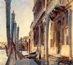 grand canal venice by john singer sargent painting