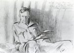 henry tonks by john singer sargent painting