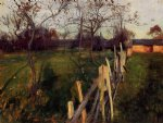 home fields by john singer sargent painting