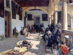 hospital at granada by john singer sargent painting