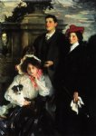 hylda almina and conway children of asher wertheimer by john singer sargent paintings-30461