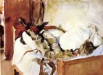 in switzerland by john singer sargent painting
