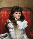 miss cara burch by john singer sargent painting