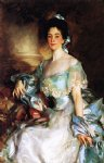 mrs. abbott lawrence rotch by john singer sargent painting